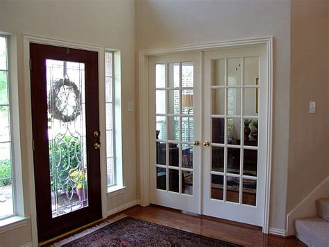 Turn Our Formal Living Into A Study With French Doors