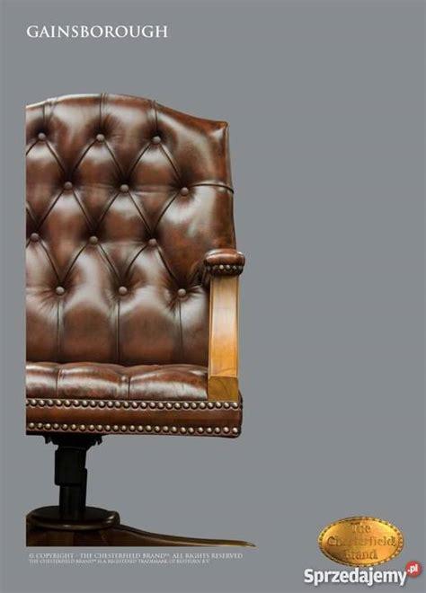 chaise de bureau chesterfield gainsborough oc krzesło biurowe warszawa sprzedajemy pl