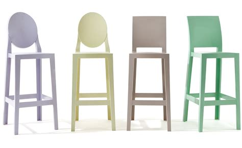chaises philippe starck kartell one more stool 2 pack hivemodern com