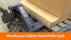 Warehouse  Hand Pallet Jack - Safety Training Video