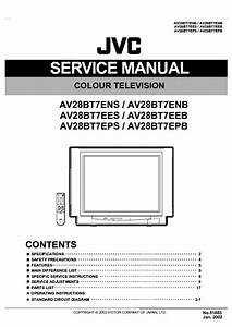 Schematic Diagram Manual Jvc Av N29f45 Color Tv