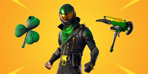 previously leaked st patricks day lucky rider fornite
