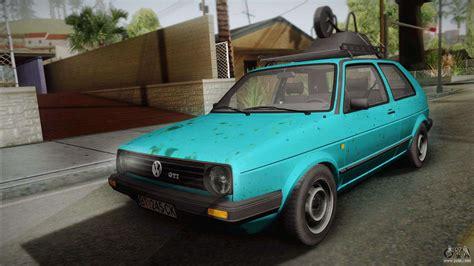 how things work cars 1991 volkswagen golf regenerative braking volkswagen golf mk2 1991 for gta san andreas