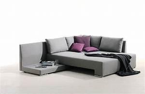 Canapé Convertible Design : canap d 39 angle design convertible ~ Teatrodelosmanantiales.com Idées de Décoration