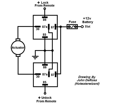 Idiot Ceiling Fan Wiring Diagram by Relay Diagram For Switching Polarity