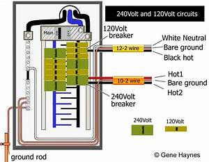A Single Phase 240 Volt Breaker Wiring Diagram