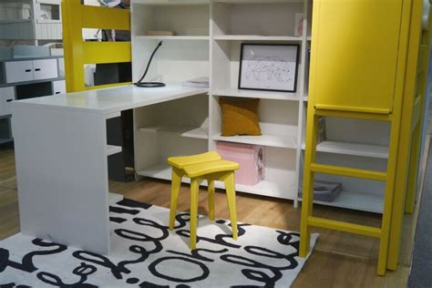 raised bed with desk raised bed bunk bed mathy by bols with desk diddle