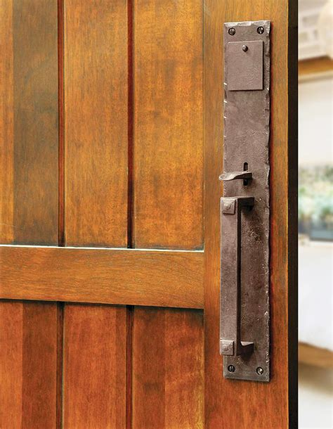 rustic door hardware make a statement with your front door hardware rustic door