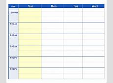 7+ Weekend Scheduled Samples Sample Templates