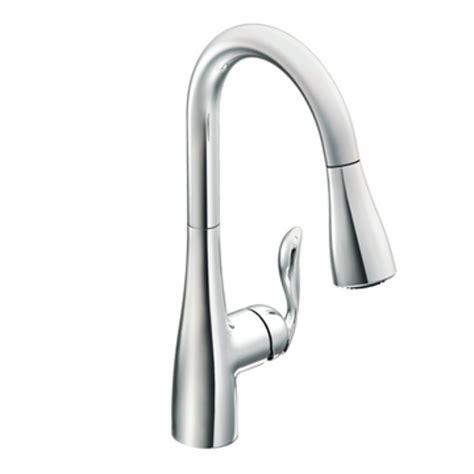 kitchen faucets moen moen 7594c arbor one handle high arc pulldown kitchen