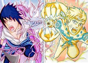 Sasuke vs Naruto Final battle by emukcs on DeviantArt