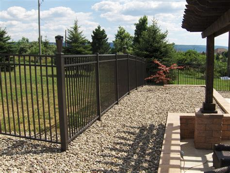 residential fences and gates residential ornamental iron fences arkansas fence
