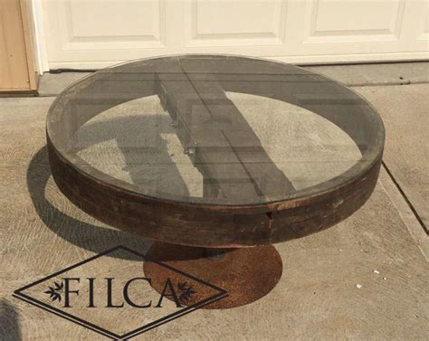 Items Similar To Filca Pulley Coffee Table Industrial