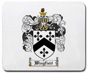 Amazon.com : Wingfield Family Shield / Coat of Arms Mouse ...