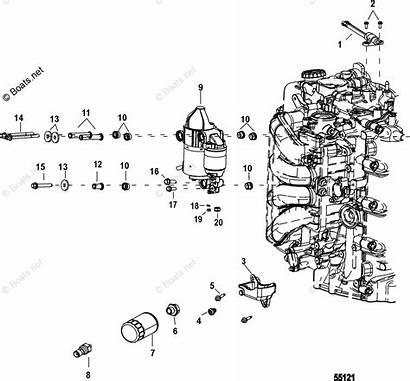 Mercury Outboard Motor Diagram Filter Oil Starter