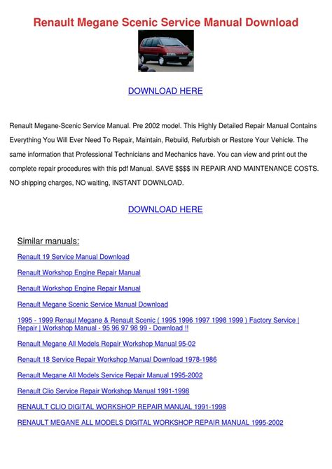 small engine repair manuals free download 1986 mazda rx 7 transmission control renault megane scenic service manual download by scarlet tabron issuu