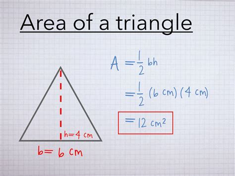 How To Find The Area Of A Triangle  How To Find  To Find The Area Of A Trian