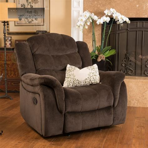Fabric Reclining Chairs by Brown Fabric Recliner Glider Lazy Chair Reclining Seat