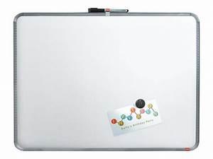 Tableau Ardoise Magnétique : nobo slimline tableau blanc 580 x 430 mm acier magn tique argent cadre gris ~ Dode.kayakingforconservation.com Idées de Décoration