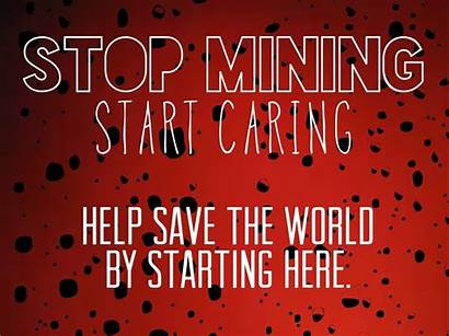 Slogans Stop Mining Philippines Simple Message Country
