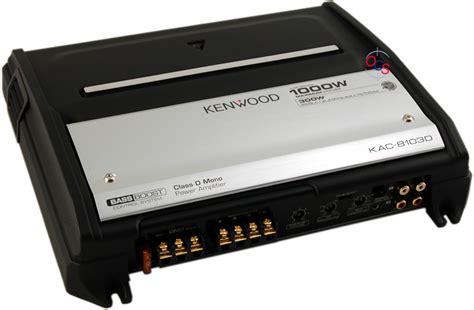 Visonik Wiring Diagram by Kenwood Kac 8103d 1000w Class D Monoblock Lifier At