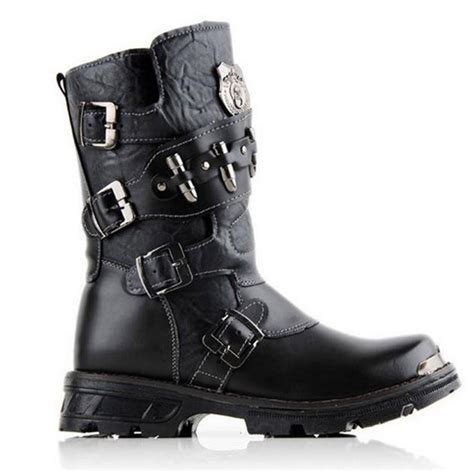 best street bike boots 2015 street top rock punk cool men 39 s fashion motorcycle