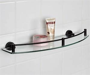 etagere salle de bain un bain d39idee pour faire le bon With porte de douche coulissante avec tablette salle de bain ventouse