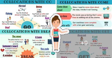 verb collocations list   verb collocations