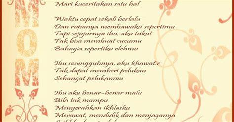 puisi hari ibu desember  bagus