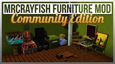 furniture 1 4 update mrcrayfish furniture mod ce the basics update Minecraft