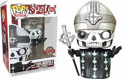 Papa Funko Ghost Emeritus Pop Ii Rocks