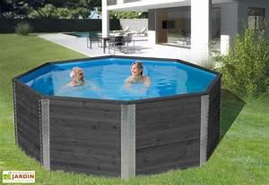 Piscine Hors Sol Chauffée : piscine hors sol piscine en bois mon am nagement jardin ~ Mglfilm.com Idées de Décoration