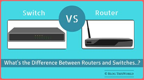network switches and routers difference and comparison