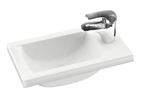 Kleines Bad Handtuchhalter by Kleines Waschbecken 40 X 22 Cm Das Mineralguss Kleines