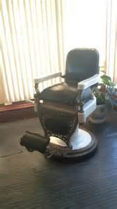 antique theo a kochs barber chair 1920 s