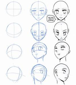 How To Draw Manga — How to draw manga faces