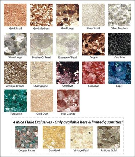 the original mica flakes for countertop sprinkle lapis