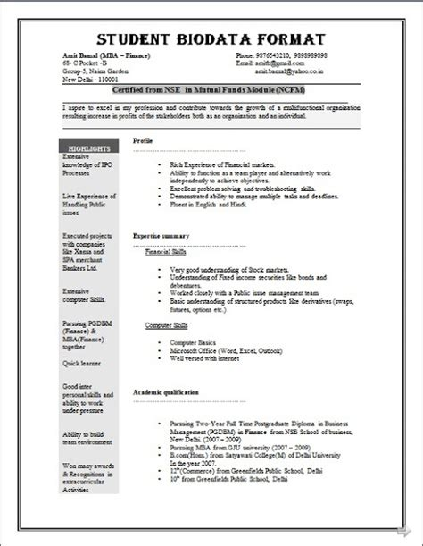 marriage cv sle in india