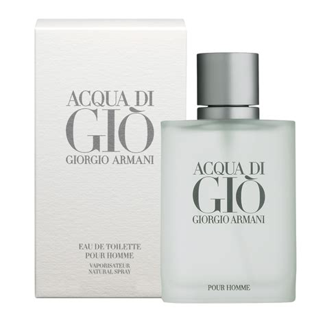 acqua di gio for eau de toilette spray 100ml chemist warehouse