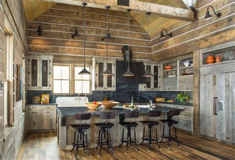 beautiful rustic kitchen interiors  rustic