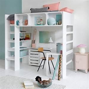 Lit En Hauteur Enfant : quel lit mezzanine lit hauteur enfant choisir ~ Preciouscoupons.com Idées de Décoration