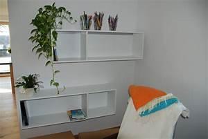 Bücherwand Mit Tv : b cherwand in schleiflack ral 9016 mit integrierter tv ~ Michelbontemps.com Haus und Dekorationen