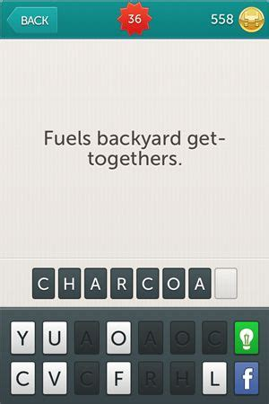 fuels backyard get togethers riddles riddles answers level 31 level 60 app ed