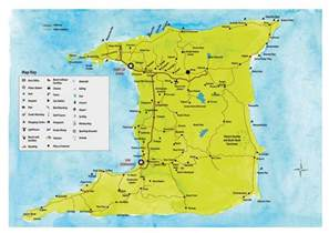 Trinidad Tobago Map