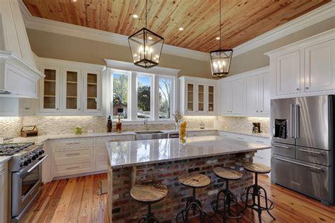 uplifting transitional kitchen designs