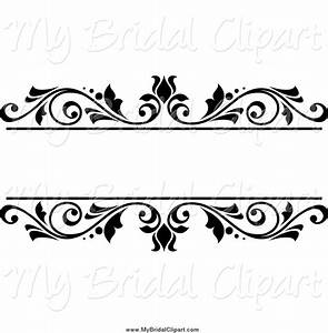 Floral clipart black and white - Pencil and in color ...