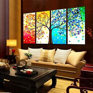 DIY Handmade Colorful Season Tree Counted Cross Stitch ...