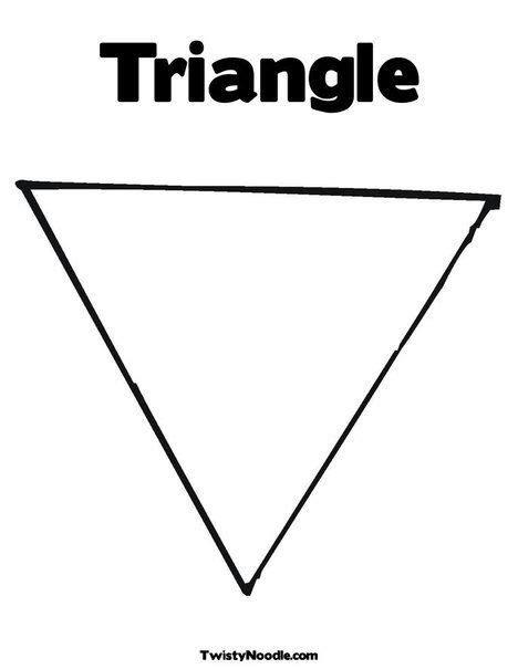 triangle coloring page from twistynoodle preschool 564 | 6938cf2bc12e9a6516cdaed655ef74d1