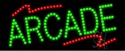 Arcade Sign Led Neon Signs Animated