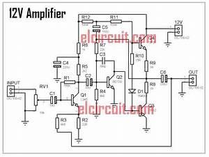 Diy Mini 12volt Power Amplifier